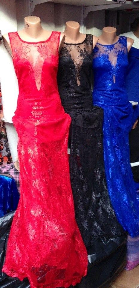Шикарные платья с гипюром